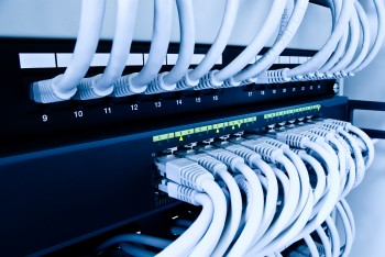 NETWORK CABLING bigstock-cables-patch-panel-and-network-12234377